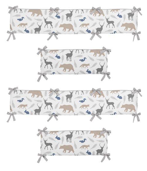 Woodland Animals Crib Bumper by Sweet Jojo Designs