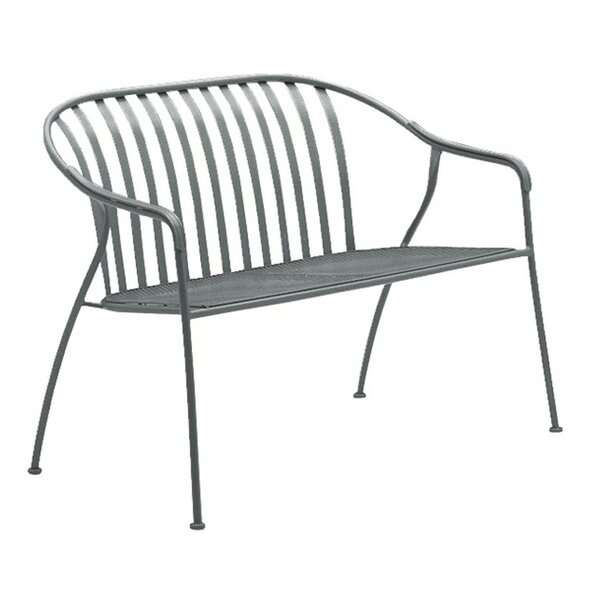 Valencia Stacking Metal Garden Bench by Woodard