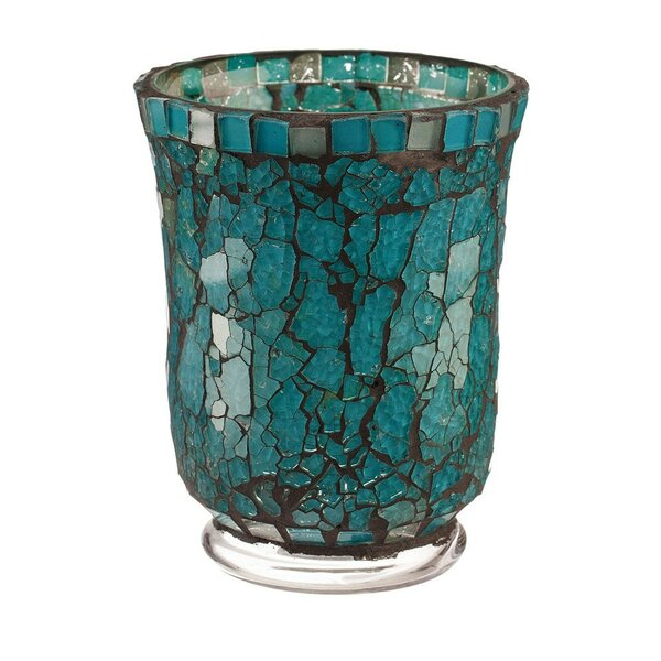 Small Glass Hurricane by Bloomsbury Market