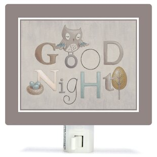Reviews Neutral Alphabet by Sarah Lowe Canvas Night Light By Oopsy Daisy