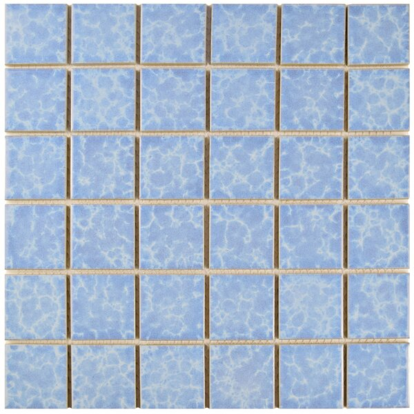 Waterfall 2 x 2 Porcelain Mosaic Tile in Alboran by EliteTile