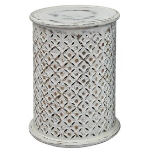 Lorraine Global Archive Drum End Table by Gracie Oaks