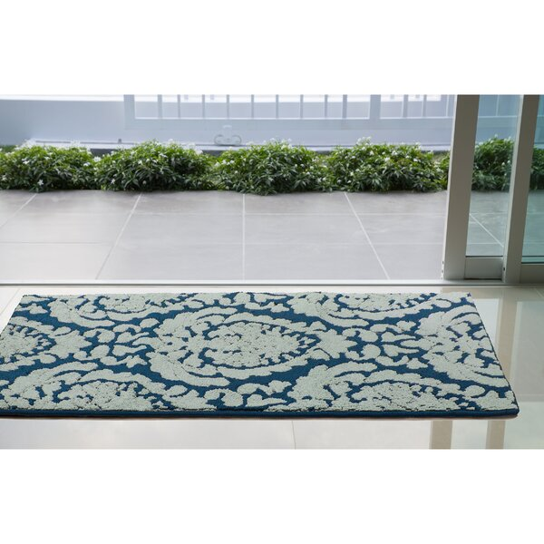 Arend Blue/White Area Rug by House of Hampton