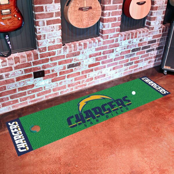 NFL San Diego Chargers Putting Green Mat by FANMATS