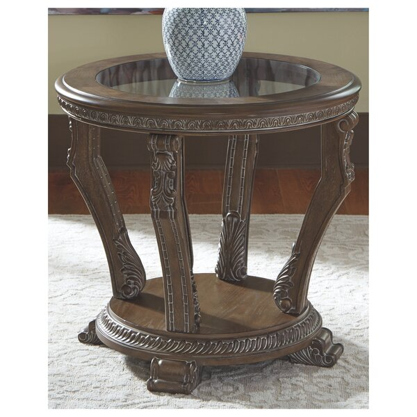 Ouzts End Table By Astoria Grand