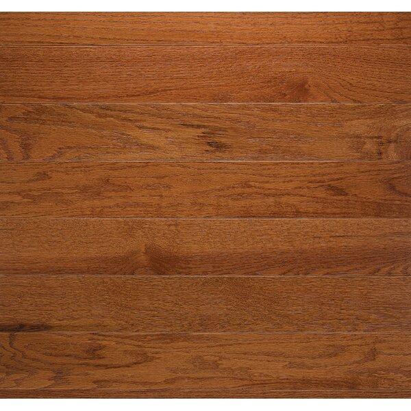 Classic 3-1/4 Solid Oak Hardwood Flooring in Gunstock by Somerset Floors