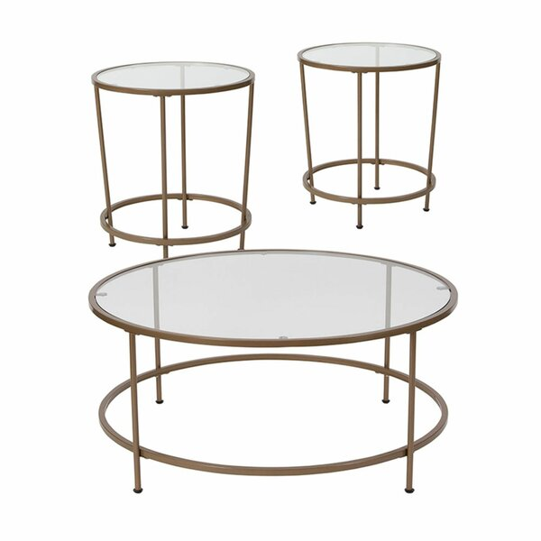 Lepanto 3 Piece Coffee Table Set by House of Hampton House of Hampton