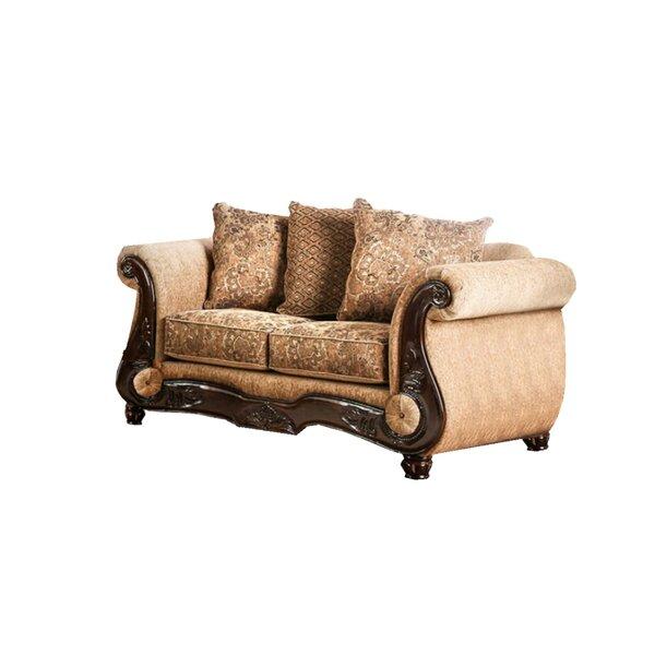 Conde Chenille 122-inch Rolled Arm Sofa by Fleur De Lis Living Fleur De Lis Living