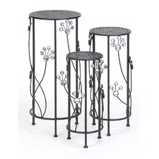3 Piece Nesting Plant Stand Set by ABC Home Collection
