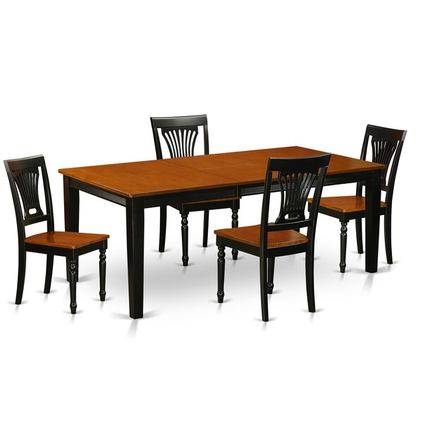 Loraine 5 Piece Dining Set by Red Barrel Studio