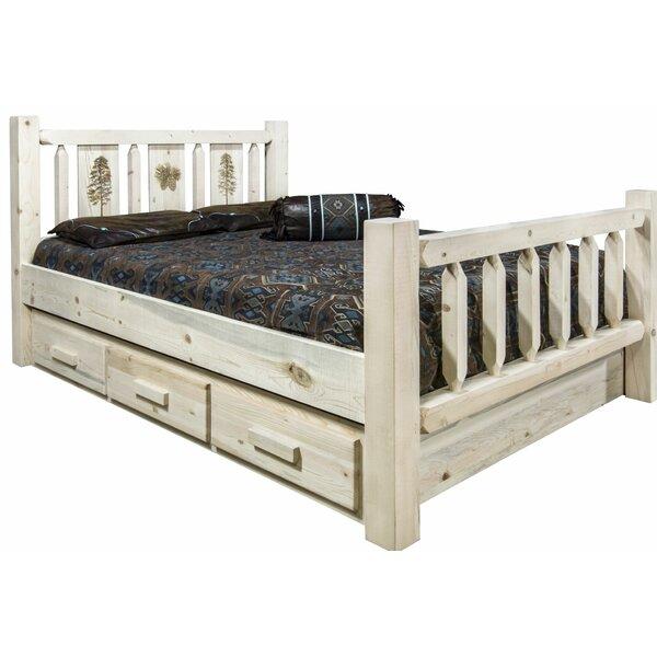 Tustin Solid Wood Storage Platform Bed by Loon Peak Loon Peak