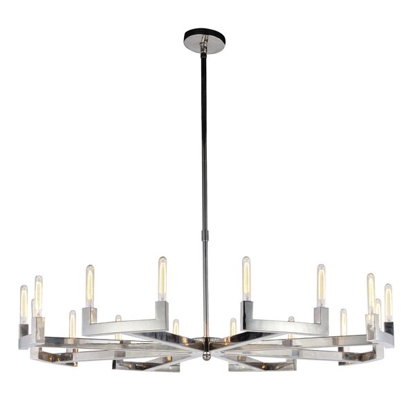 Donnell 16 - Light Candle Style Classic / Traditional Chandelier By Corrigan Studio