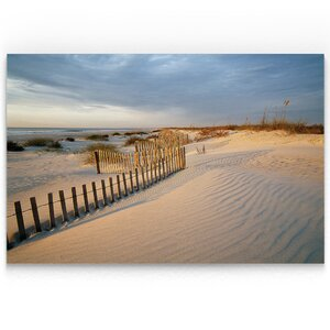 'Huntington Horizon' Oil Painting Print on Wrapped Canvas by Highland Dunes