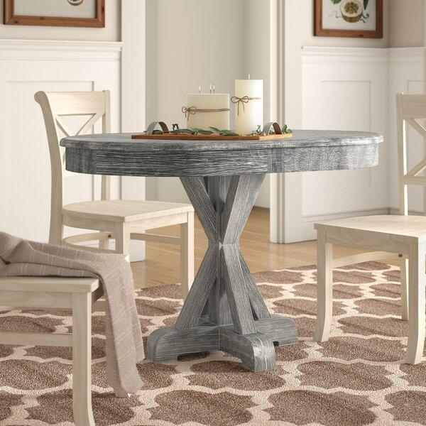 Genoveva Solid Wood Dining Table by Birch Lane™ Heritage