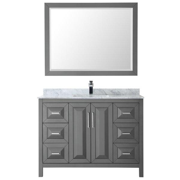 Daria 48 Single Bathroom Vanity Set with Mirror