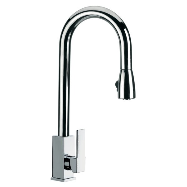 Pull Out Single Handle Kitchen Faucet by Remer by Nameek's