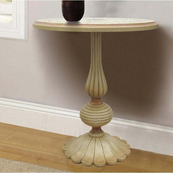 Royer Hand Painted Wooden End Table by Astoria Grand Astoria Grand