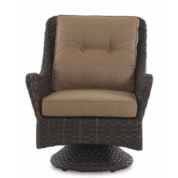 Rouse Patio Chair with Cushion by Fleur De Lis Living
