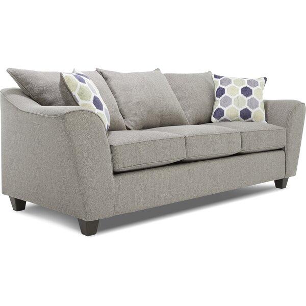 True Seating Knox Sofa Light Gray By TrueSeating