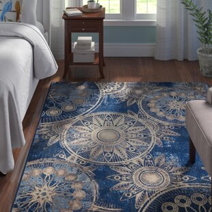 Myron Denim Area Rug By Andover Mills