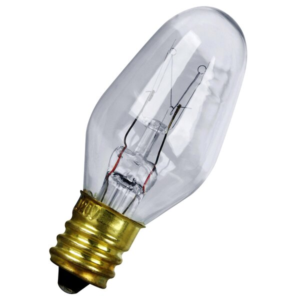 7W 120-Volt Incandescent Light Bulb (Pack of 4) by FeitElectric