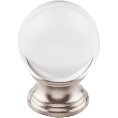 Serene Clarity Round Knob by Top Knobs
