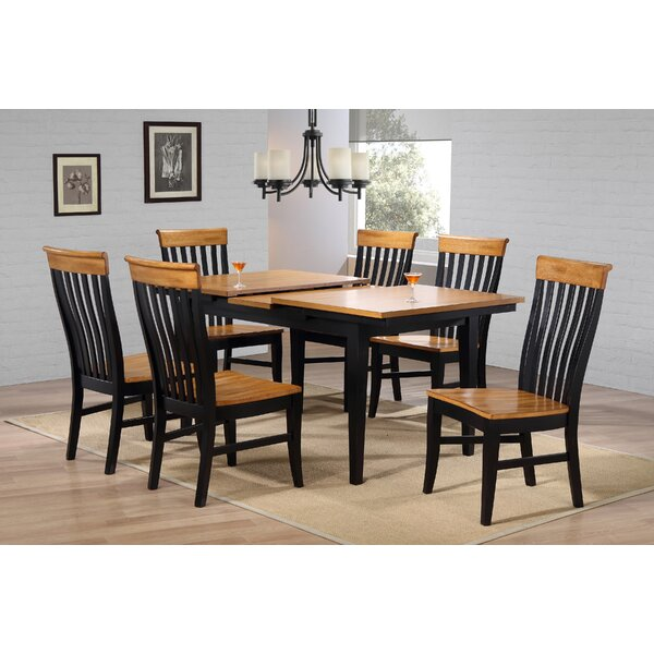 Anciaux Counter Height Extendable Dining Table