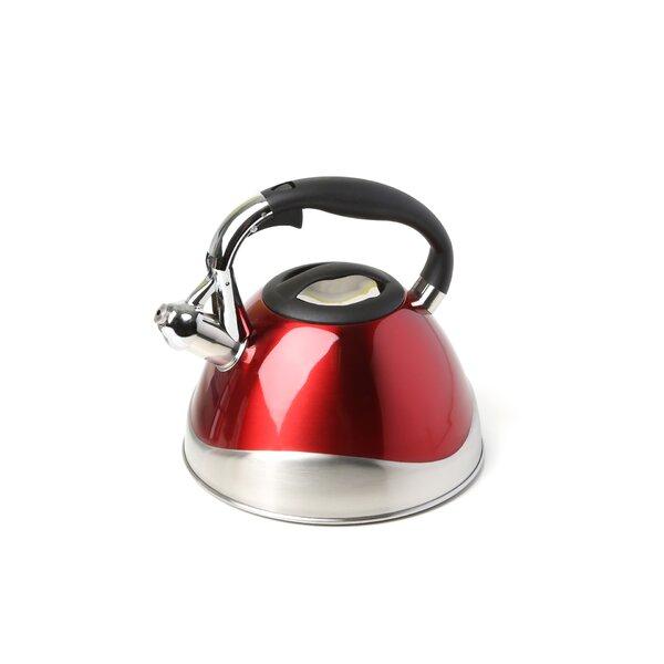 Crescendo 3.1-qt. Whistle Tea Kettle by Creative Home