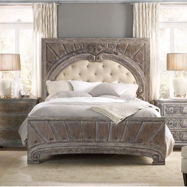 True Vintage Upholstered Standard Bed by Hooker Furniture