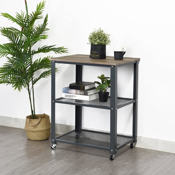 Britney End Table by 17 Stories