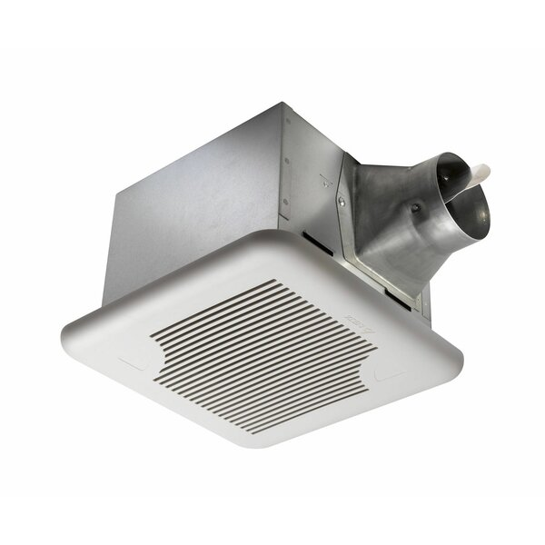 BreezSignature 80 CFM Energy Star Single Speed Exhaust Bathroom Fan by Delta Breez