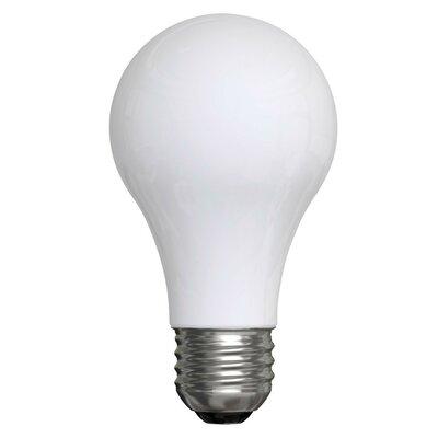 GE 43 Watt, A19 Halogen, Non-Dimmable Light Bulb, 2850K Base