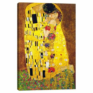 The Kiss By Gustav Klimt Wayfair