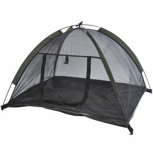 Forsyth Outdoor Camping Mesh Pop Up Dog Tent Shelter Dog House by Tucker Murphy Pet