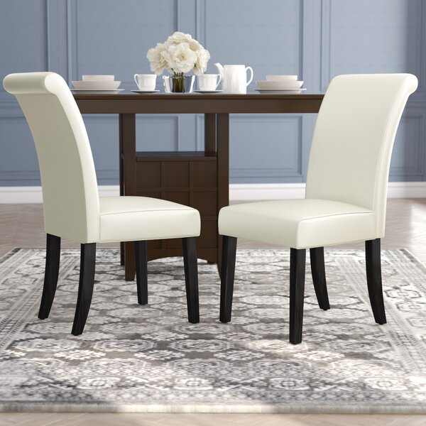 #2 Gault Upholstered Dining Chair (Set Of 2) By Alcott Hill Spacial Price