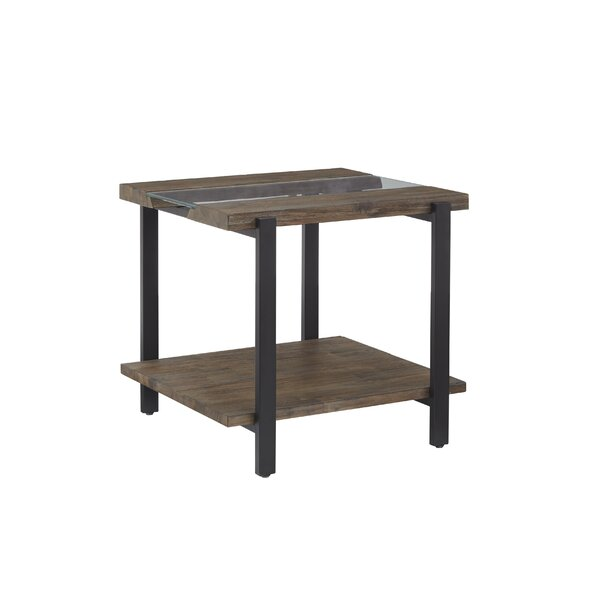 Poppe End Table by Union Rustic Union Rustic