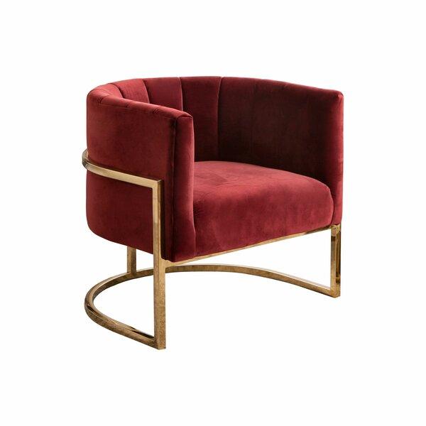 Daulton Barrel Chair by Everly Quinn