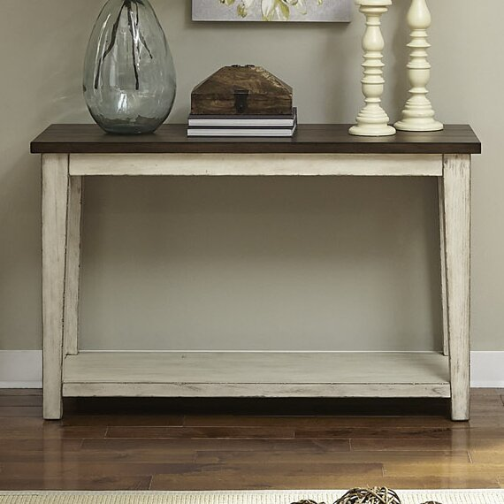 Lexie Console Table by August Grove