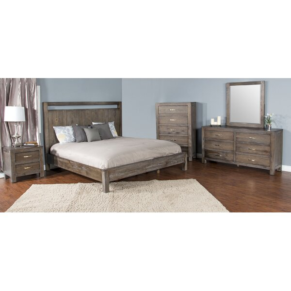 Cortney Platform Configurable Bedroom Set by Union Rustic
