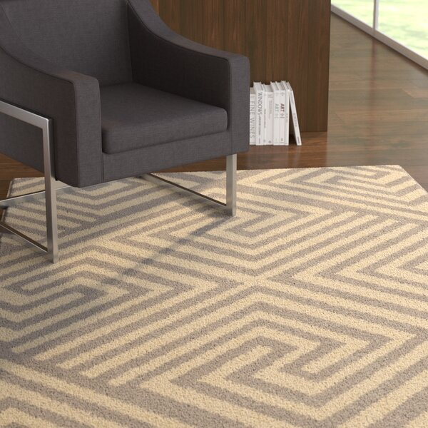 Erelina Gray/Beige Area Rug by Latitude Run