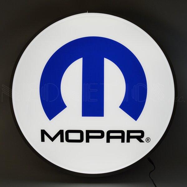 Mopar Omega M 15 Backlit LED Wall Light by Neonetics