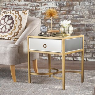 Price Check Chateau End Table with Storage ByMercer41