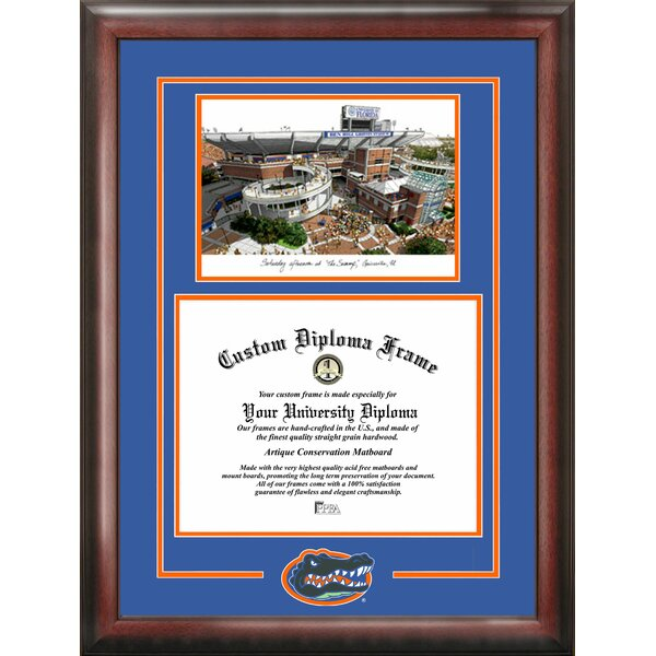 NCAA Florida University Spirit Graduate Picture Frame by Campus Images