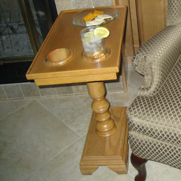 Traveller Chairside End Table by Third Floor Designs