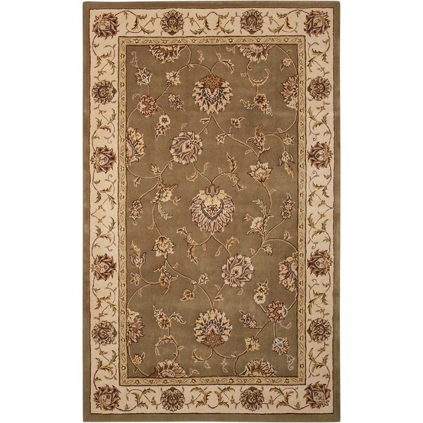 Freeport Handmade Taupe/Beige Area Rug by Darby Home Co