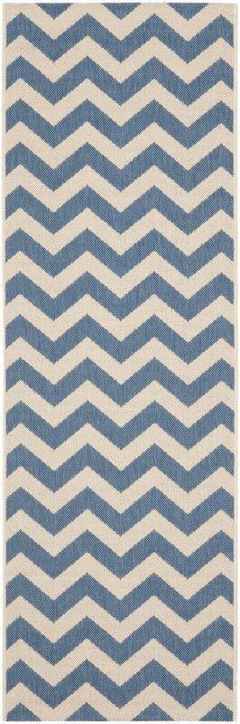 safavieh innen au enteppich in blau beige bewertungen. Black Bedroom Furniture Sets. Home Design Ideas