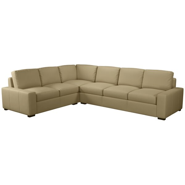 Howard Leather Sectional By Westland And Birch