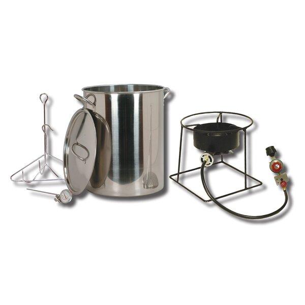 Turkey Fryer Package with Stainless Steel Pot by King Kooker