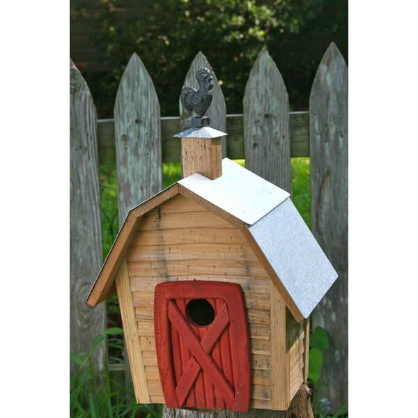 Rock City 17 in x 11 in x 8 in Birdhouses by Heartwood
