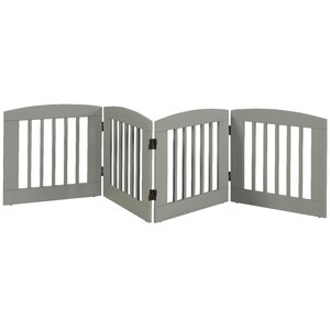 Gale 4 Panel Expansion Dog Gate